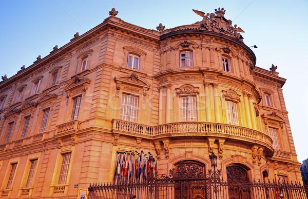 Palacio de Lineares in Madrid Stock photo © benkrut