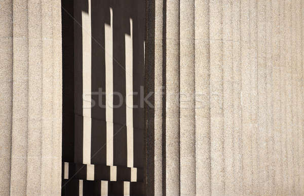 Columnas Partenón Tennesse completo tamaño Foto stock © benkrut