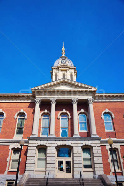 Old courthouse in Plymouth Stock photo © benkrut