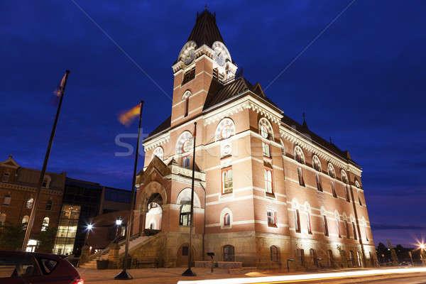 Fredericton City Hall  Stock photo © benkrut