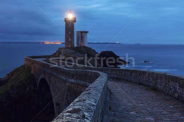 Petit Minou Lighthouse Stock photo © benkrut