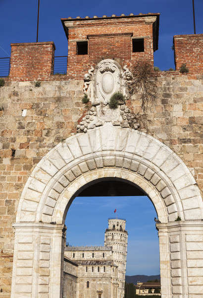 Leaning Tower in Pisa Stock photo © benkrut