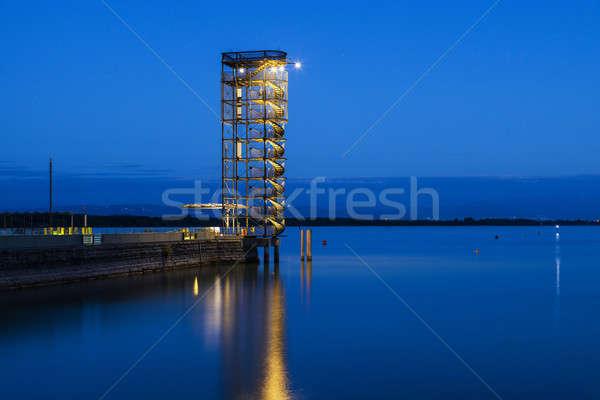 Pier in Friedrichshafen Stock photo © benkrut