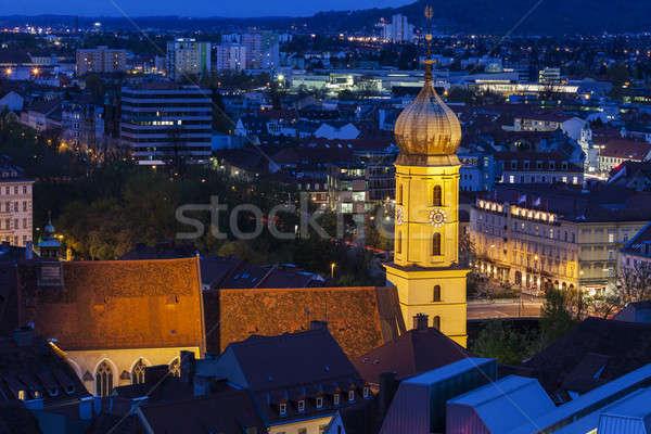 Katharinenkirche in Graz Stock photo © benkrut