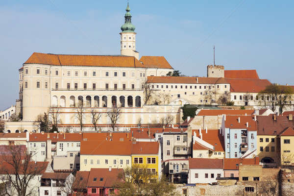 Mikulov panorama Stock photo © benkrut