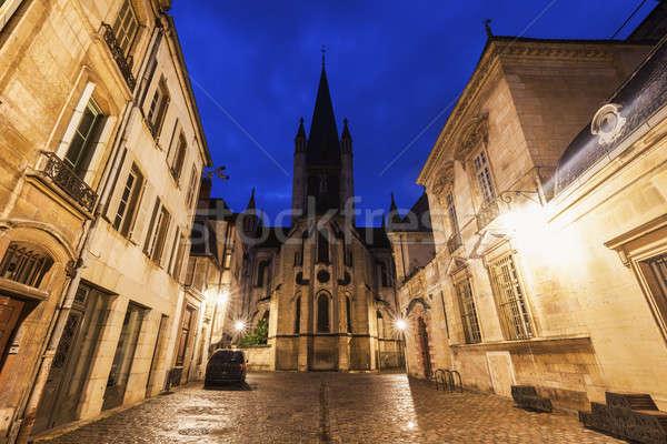 Church of Notre-Dame of Dijon Stock photo © benkrut