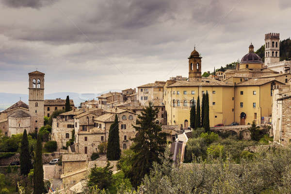 Architecture of Assisi Stock photo © benkrut