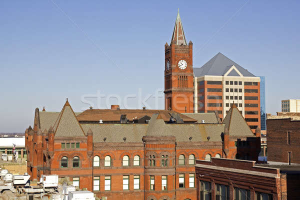 Panorama of Indianapolis Stock photo © benkrut
