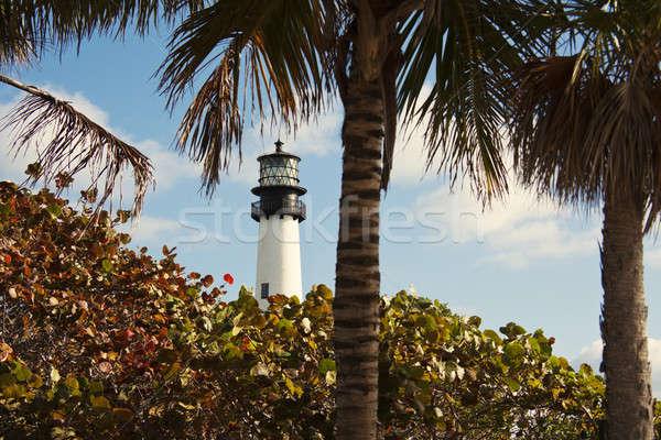 Key Biscayne lighthouse Stock photo © benkrut