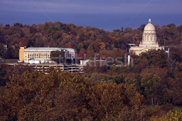 Frankfort - State Capitol Building Stock photo © benkrut