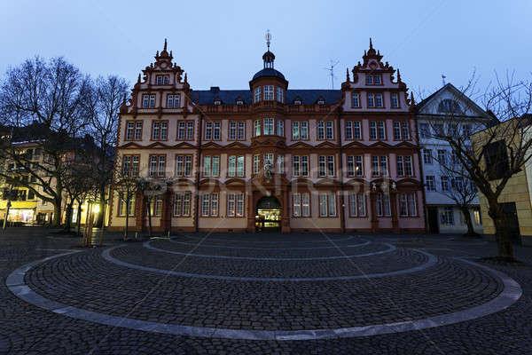 Gutenberg Museum in Mainz  Stock photo © benkrut
