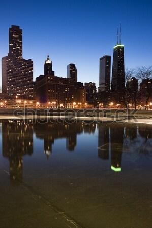 Lincoln Park vista Stock photo © benkrut
