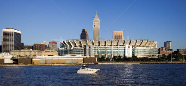 Cleveland from Lake Erie Stock photo © benkrut