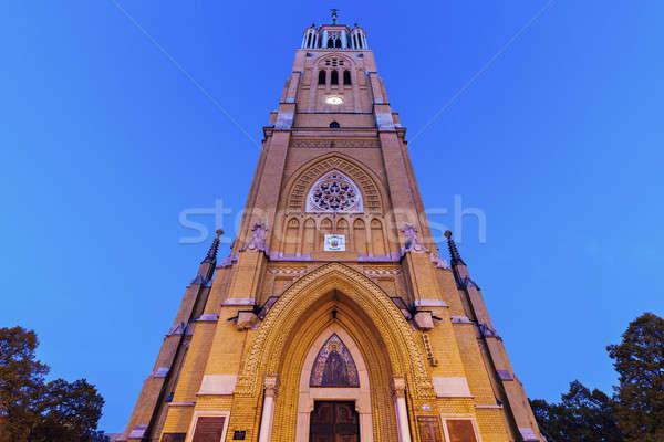 Basiliek stad reizen Europa centrum buitenshuis Stockfoto © benkrut