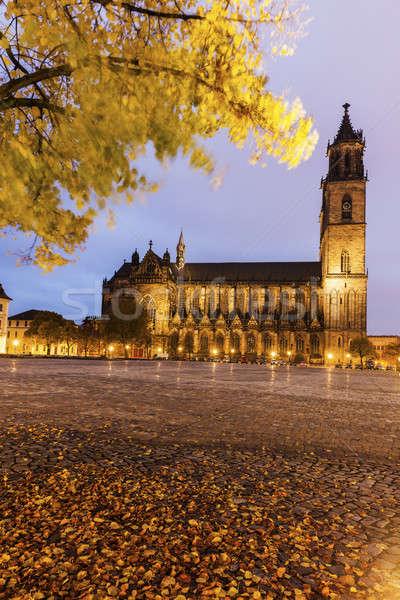 Catedral bajar iglesia viaje horizonte arquitectura Foto stock © benkrut