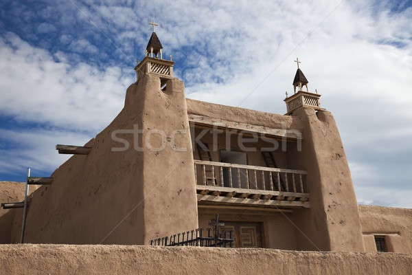 Church in Las Trampas, New Mexico  Stock photo © benkrut