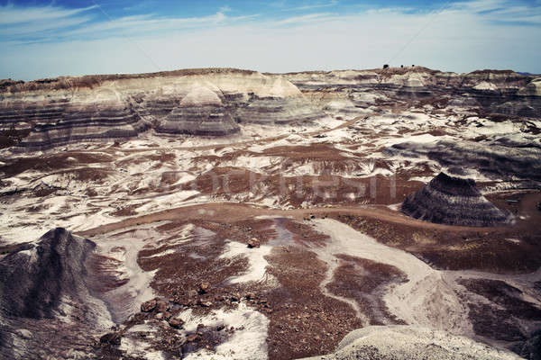 Colorful rocks of badlands in Arizona  Stock photo © benkrut