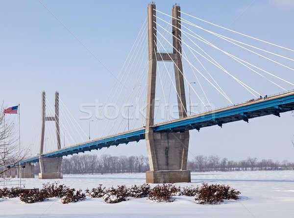 Quincy Memorial Bridge Stock photo © benkrut