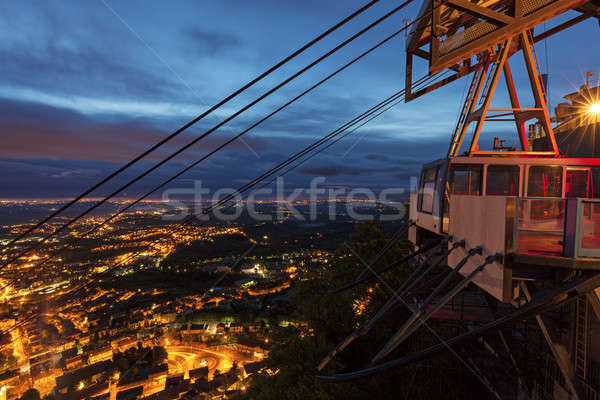 Сан-Марино весны вечер город путешествия Skyline Сток-фото © benkrut