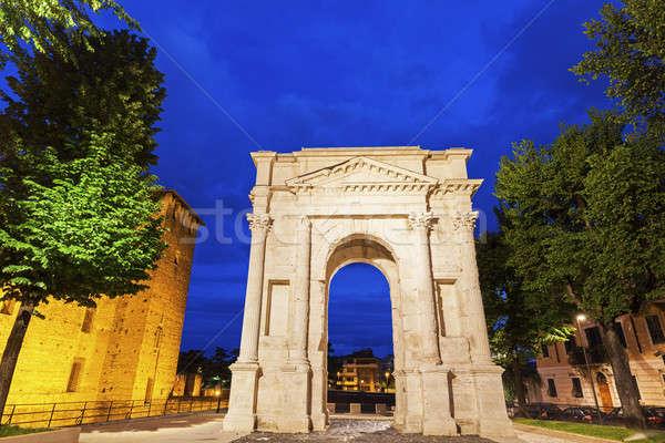 Gavi Arch in Verona Stock photo © benkrut