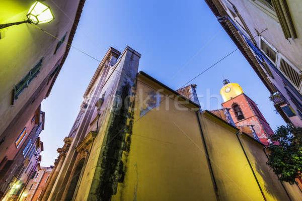 Notre Dame Church in Saint-Tropez Stock photo © benkrut