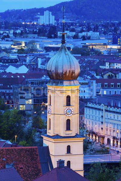 Franziskanerkirche in Graz Stock photo © benkrut
