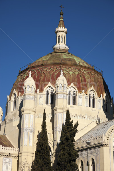 Dome of the Church in Madrid Stock photo © benkrut