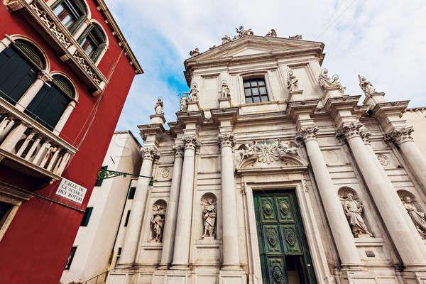 Santa Maria Assunta detta I Gesuiti in Venice Stock photo © benkrut