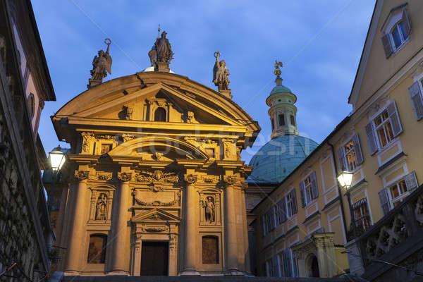 Photo stock: Graz · ville · Voyage · Skyline · architecture · panorama