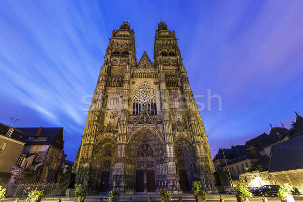 Tours Cathedral Stock photo © benkrut