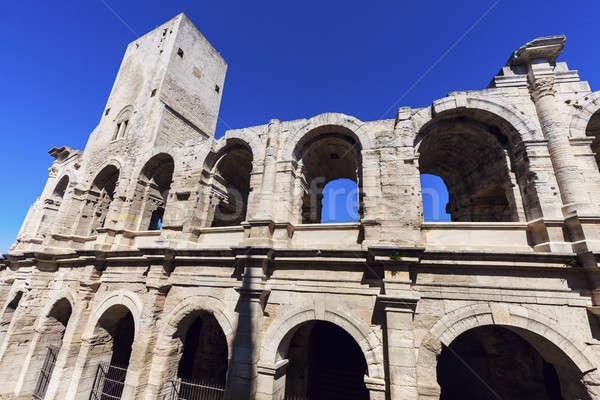 Arles Amphitheatre Stock photo © benkrut