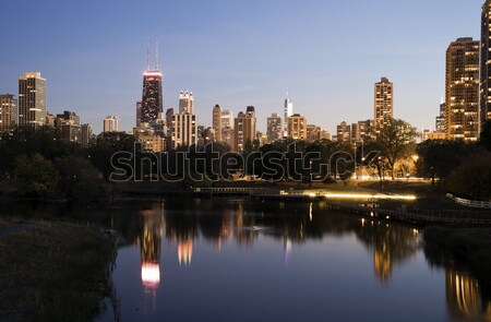 Lincoln Park during fall Stock photo © benkrut