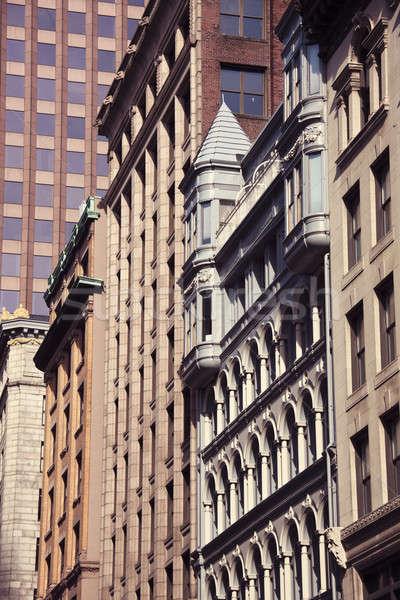 архитектура Бостон центра Массачусетс Сток-фото © benkrut
