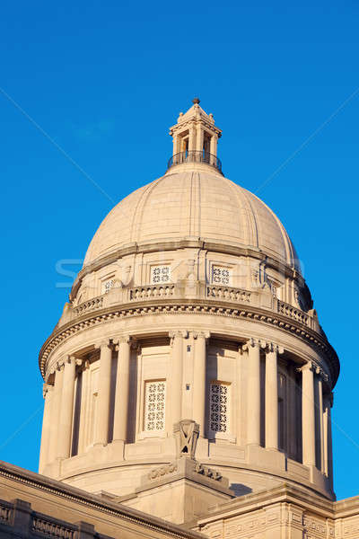 Frankfort, Kentucky - State Capitol Building Stock photo © benkrut