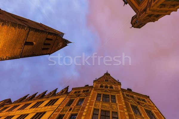 Marktkirche in Hanover Stock photo © benkrut