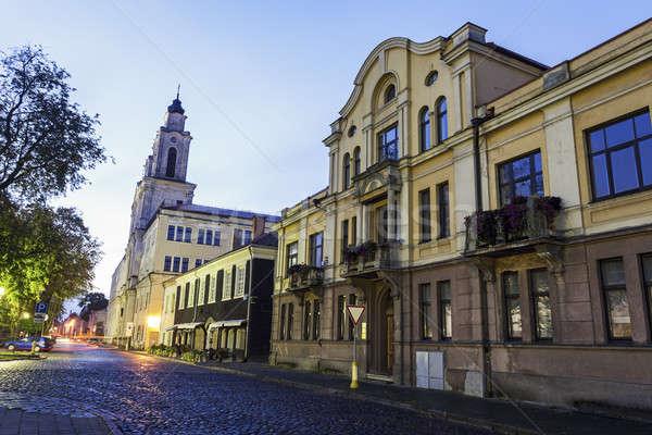 Church of St. Francis Xavier, Kaunas Stock photo © benkrut