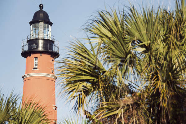 Ponce de Leon Inlet Lighthosue Stock photo © benkrut