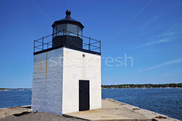 Derby Wharf Lighthouse in Salem Stock photo © benkrut