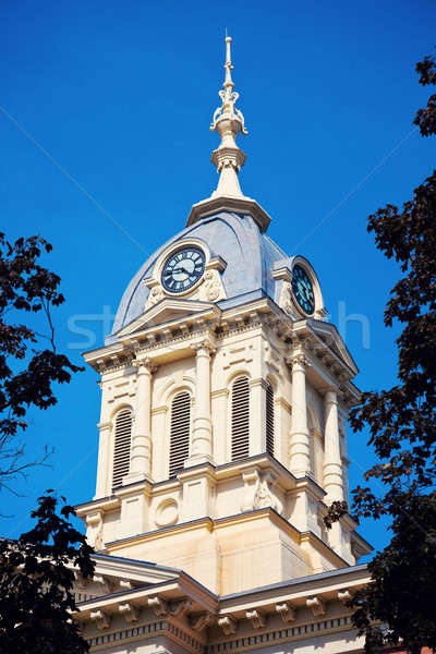Old courthouse in Warsaw Stock photo © benkrut