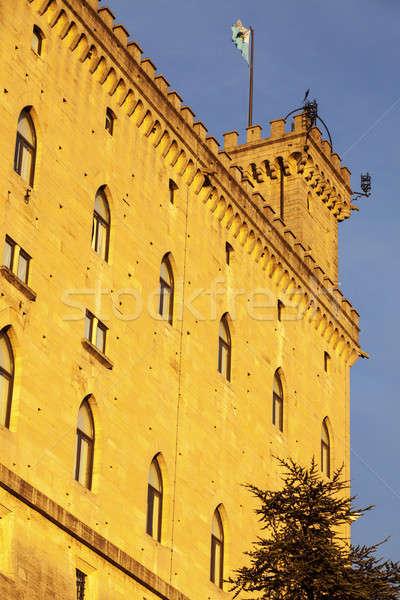 City of San Marino town hall  Stock photo © benkrut