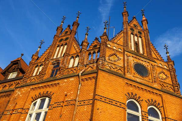Old architecutre of Bydgoszcz Stock photo © benkrut
