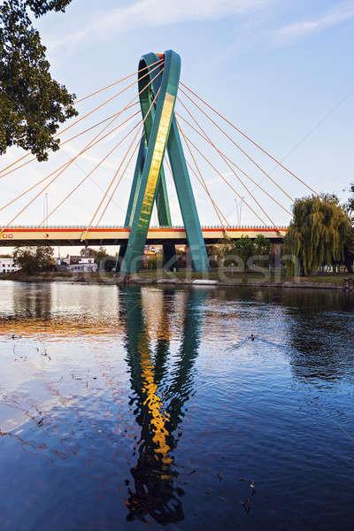 University Bridge in Bydgoszcz Stock photo © benkrut