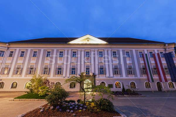 Neues Rathaus in Klagenfurt Stock photo © benkrut