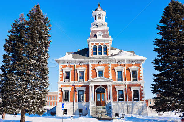 Old courthouse in Macomb Stock photo © benkrut