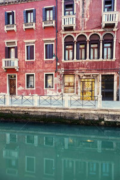 Architecture of Venice Stock photo © benkrut