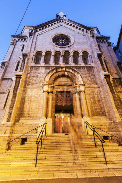Notre Dame de Bon Voyage Church in Cannes Stock photo © benkrut