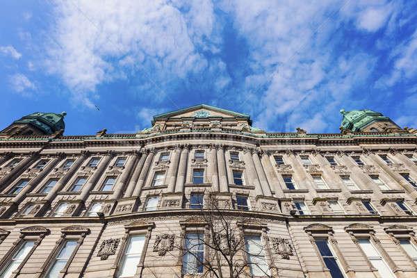 Arquitetura antiga Belfast norte Irlanda Reino Unido céu Foto stock © benkrut