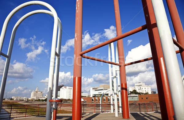 Bord de l'eau structure vieux nouvelle Photo stock © benkrut