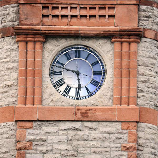 Clock Tower in Cheyenne Stock photo © benkrut