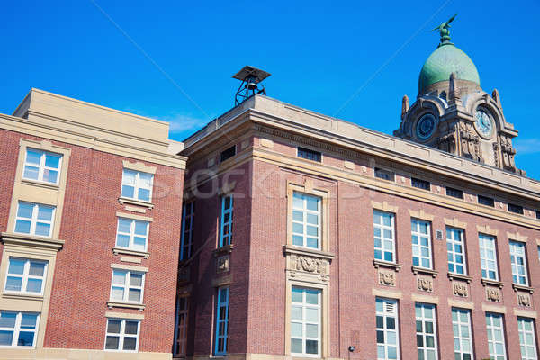 Old courthouse in Painesville Stock photo © benkrut